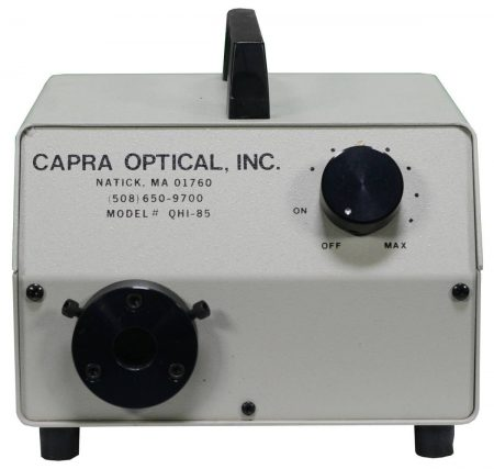 Capra Optical QHI-85 , Fiber Optic Illuminator