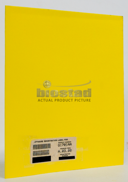 Agilent G1701AA Software Certificate and Registration Packet