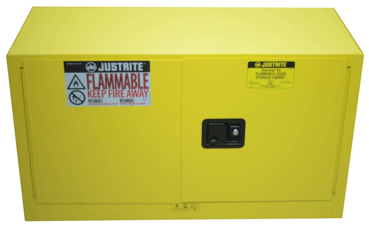 Justrite Sure Grip Ex Flammable Storage Cabinet 17 Gallon